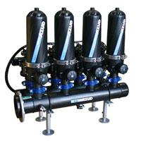 Дисковые фильтры механической фильтрации воды